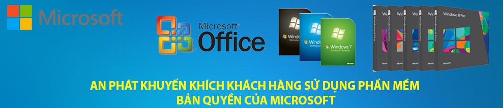 Phần Mềm Bản Quyền Microsoft