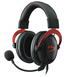 Tai nghe Kingston HyperX Cloud II Gaming Headset for PC & PS4 - Red