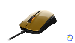 Chuột SteelSeries Rival 100 Alchemy Gold