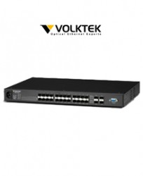 Switch VOLKTEK 24port MEN-6328D
