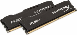 Ram Kingston 16G 1600MHZ DDR3 CL10 Dimm (kit of 2) HyperX Fury Black HX316C10FBK2/16