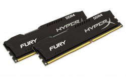 RAM Kingston HyperX Fury Black 8G DDR4 Bus 2666Mhz CL15 Kit of 2 - HX426C15FBk2/8