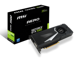 VGA MSI GeForce GTX 1080 AERO 8G