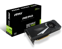 VGA MSI GeForce GTX 1080 AERO 8G OC