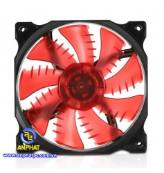 Fan Case Segotep 12CM LED Red