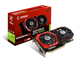 Card màn hình MSI GEFORCE GTX 1050 TI GAMING X 4G