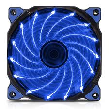 Fan Case Segotep polar wind 12cm - Fan 15 led BLUE