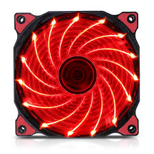Fan Case Segotep polar wind 12cm - Fan 15 led RED