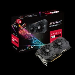 Card màn hình ASUS ROG Strix RX570 OC edition 4GB GDDR5 (ROG-STRIX-RX570-O4G-GAMING)