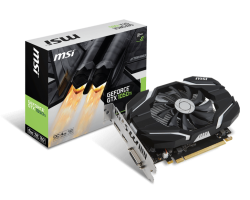 Card màn hình MSI GEFORCE GTX 1050 TI 4G OCV1 mini