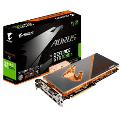 VGA Gigabyte AORUS GeForce GTX 1080 Ti Waterforce WB Xtreme Edition 11G (GV-N108TAORUSX WB-11GD)