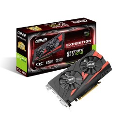 Card màn hình ASUS EXPEDITION GTX 1050 OC 2GB GDDR5 (EX-GTX1050-O2G)