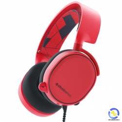 Tai nghe SteelSeries Arctis 3 Solar Red