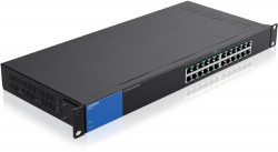 Linksys 24-Port Business Gigabit PoE+ Switch (LGS124P)