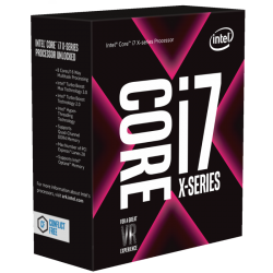 CPU Intel Core i7-7820X (3.6GHz Upto 4.3Ghz/ 8C16T/ 11MB/ 2066-KabyLakeX)