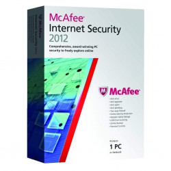 McAfee Internet Security 2012 - 3PCs
