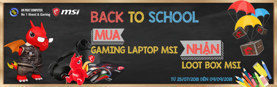 Back to School - MSI Gaming laptop