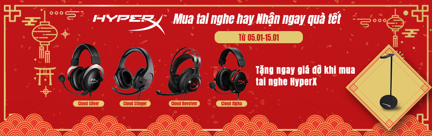 CT tai nghe kingston hyperx