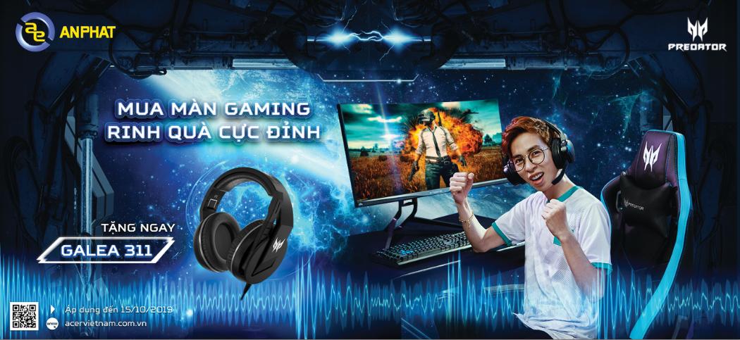 mua màn hình gaming rinh quà cực đỉnh