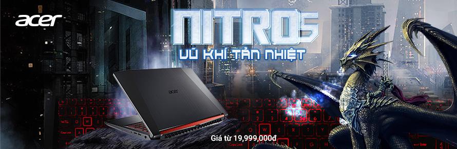 ACER Nitro 5 - Vũ Khí Tản Nhiệt