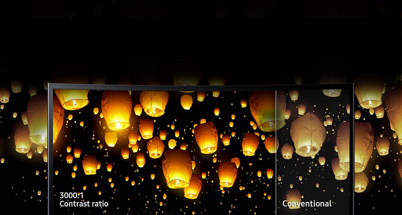 Màn hình máy tính Samsung LC24F390FHEXXV Curve - LED - 23.5 inch (màn hình cong)