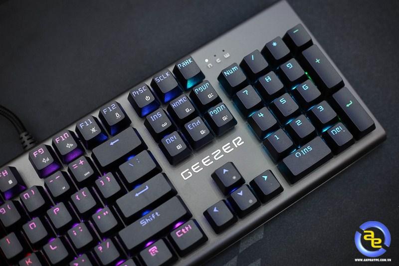 đèn led siêu sáng Geezer GS2 RGB