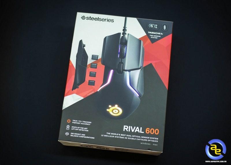 hộp SteelSeries Rival 600