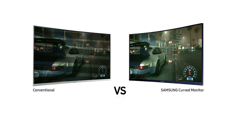 Màn hình máy tính Samsung LC27H580FDEXXV 27'' 60Hz FullHD Cong
