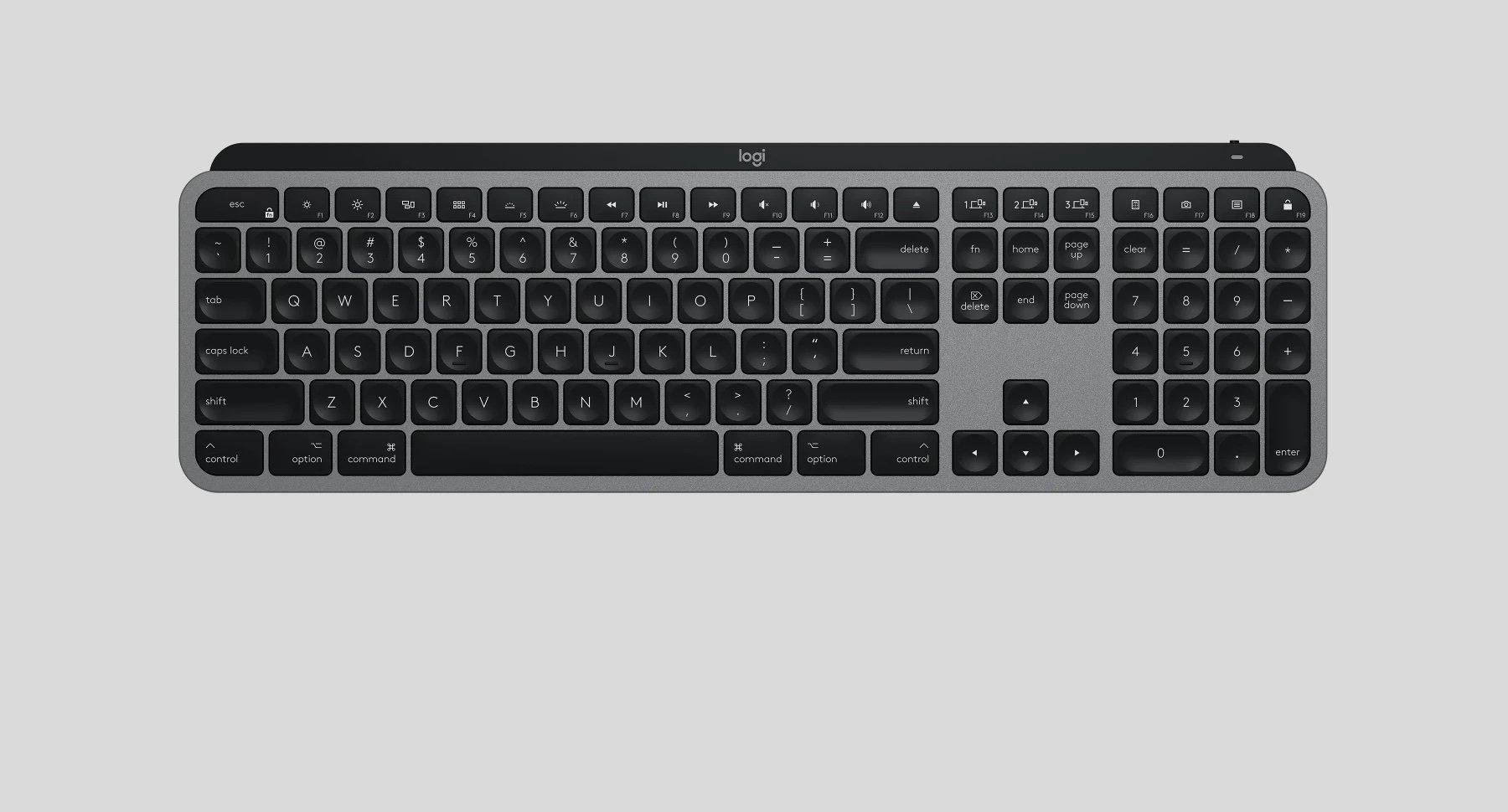 Logitech ra mắt bàn phím dành cho máy tính Mac với tên gọi MX Keys