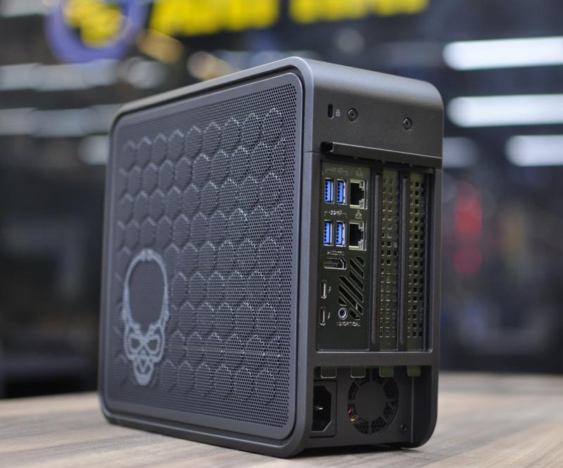 Đập hộp NUC 9 Extreme 9i9 KIT - PC bé như quyển sách nhưng cấu hình siêu khủng: Chip core i9, hỗ trợ VGA RTX 3080! - Ảnh 8.