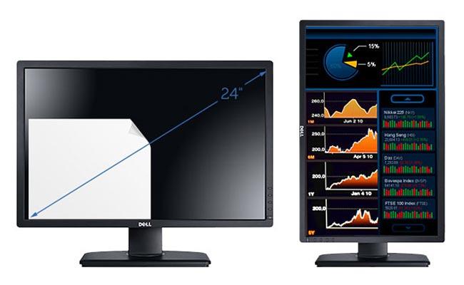 Màn hình máy tính Dell Ultrasharp U2412M LED IPS - 24 inch