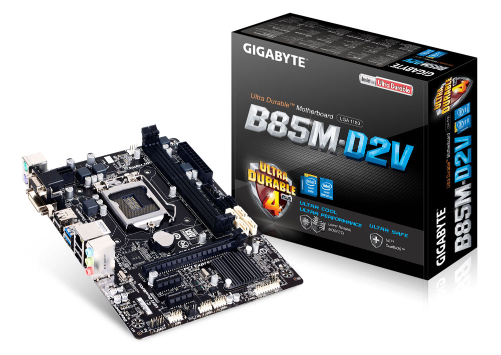Kết quả hình ảnh cho Main gigabyte  B85M-D2V-