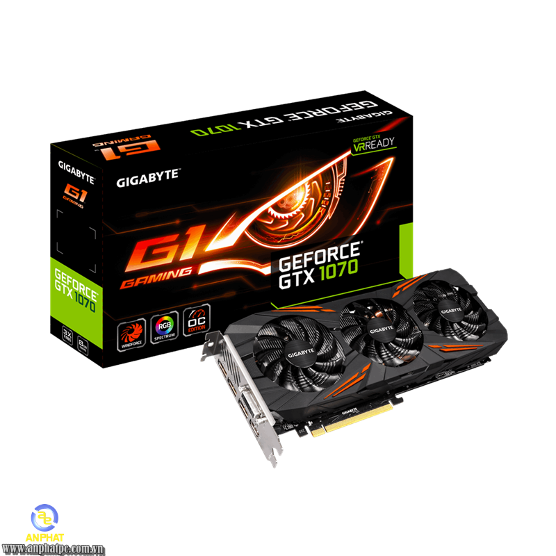VGA GIGABYTE GV-N1070G1 GAMING-8GD (GeForce GTX 1070)