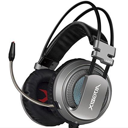 Tai nghe Xiberia V10 Jack USB Grey