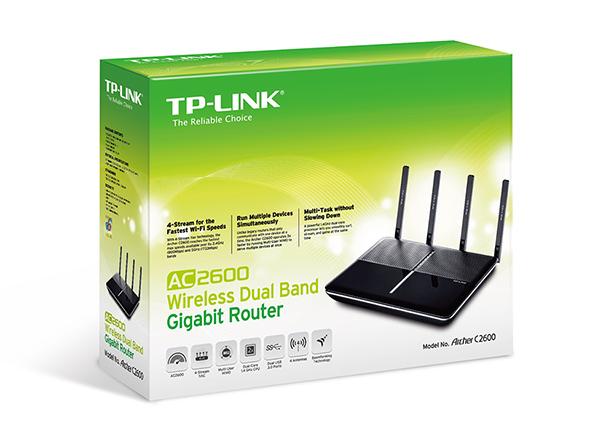 Router Wifi Tp-link Arcer C2600 Băng Tần Kép