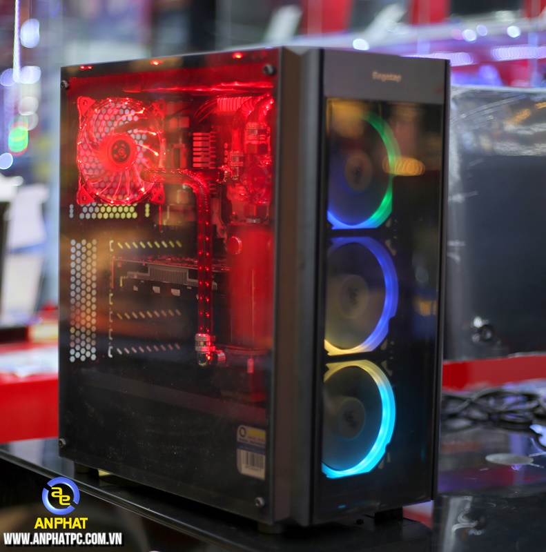 Bộ case máy tính chơi game - PCAP GAMING Performance 2 Stylist with Water Cooling