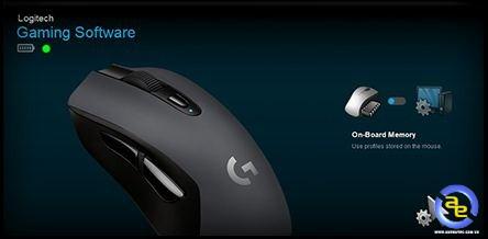 Logitech G603 được trang bị bộ nhớ trong