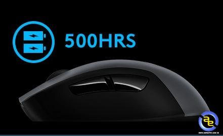 Logitech G603 có tính năng cảnh báo pin