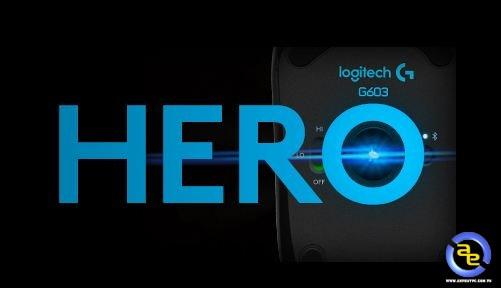 cảm biến HERO trên Logitech G603 có hiệu năng cao và mức tiêu thụ điện thấp