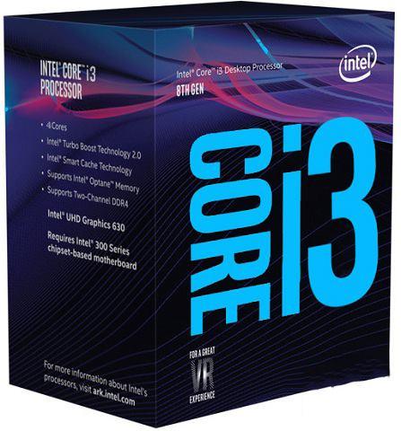 CPU Intel Core i3-8350K (4.0Ghz/ 4C4T/ 8MB/ 1151v2-CoffeeLake)