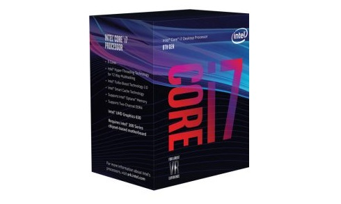 CPU Intel Core i7-8700 (3.2GHz Upto 4.6Ghz/ 6C12T/ 12MB/ 1151v2-CoffeeLake)