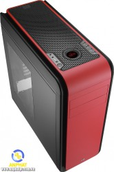 Vỏ máy tính Case Aerocool DS 200 Black / Red / Green ( DS200) - WaterCooling custom Support