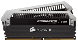 RAM Corsair Dominator Platinum DDR4 16gb 3200MHz 2 x 8GB (CMD16GX4M2B3200C14)