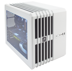 Corsair Carbide Series® Air 240 Arctic White High Airflow MicroATX and Mini-ITX PC Case