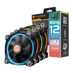 Fan case Thermaltake Riing 12cm RGB Tripple Pack (3Fan)