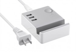 USB Hub UGreen 3 Ports Charging Station with Cradle cable 1.5m