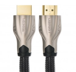 Cáp HDMI UGreen metal connector with Nylon braid 1.4V, full copper 19+1 - 8M
