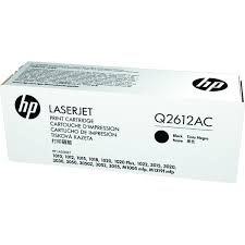 Mực in HP Q2612AC Black Contr LJ Toner Cartridge Q2612AC