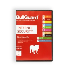 BullGuard Internet Security BIS1U (1 năm 1 PC)