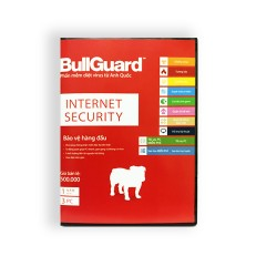 BullGuard Internet Security BIS3U (1 năm 3 PC)